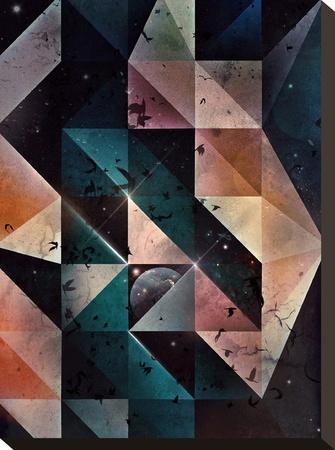 spyce chynnyl-Spires-Stretched Canvas Print
