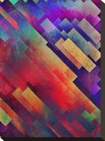 spyctrym yf yngyr-Spires-Stretched Canvas Print