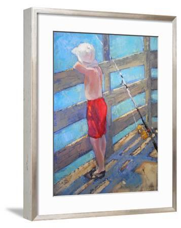 The one that got away-Carol Schiff-Framed Giclee Print
