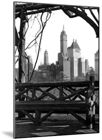 New York view-Underwood-Mounted Giclee Print