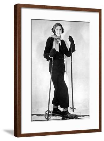 Four man rowing-Underwood-Framed Giclee Print