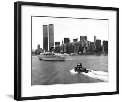 New York Skyline-Underwood-Framed Giclee Print
