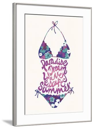 Bikini Floral-Joni Whyte-Framed Giclee Print