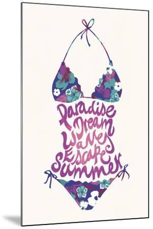 Bikini Floral-Joni Whyte-Mounted Giclee Print
