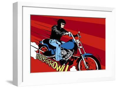 Need For Speed II-Tom Frazier-Framed Giclee Print