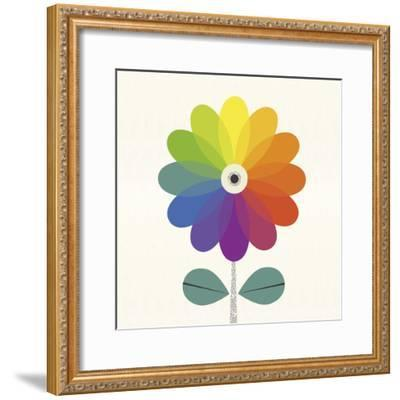 Fleur Chroma-Sophie Ledesma-Framed Giclee Print