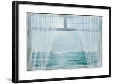 Morning View-Diane Romanello-Framed Art Print