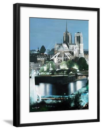 Notre Dame-Diane Romanello-Framed Art Print