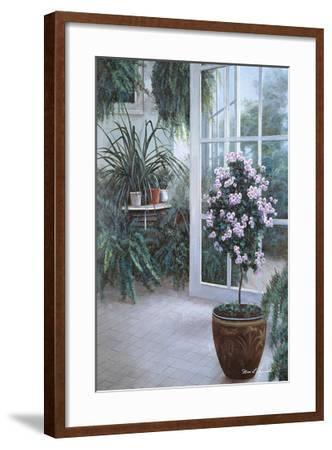 Patio Light-Diane Romanello-Framed Art Print