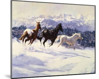 Winter Spirits-Claire Goldrick-Mounted Art Print