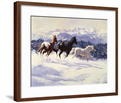 Winter Spirits-Claire Goldrick-Framed Art Print