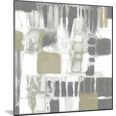 Neutral Quadrants I-Jennifer Goldberger-Mounted Giclee Print