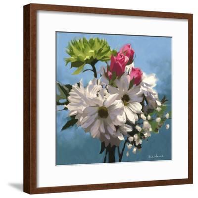 Still Floral I-Rick Novak-Framed Art Print
