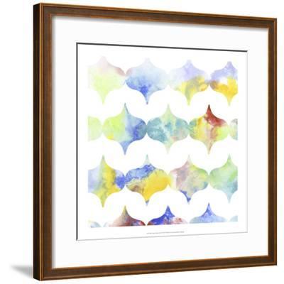 Metric Watercolors II-Jennifer Goldberger-Framed Art Print