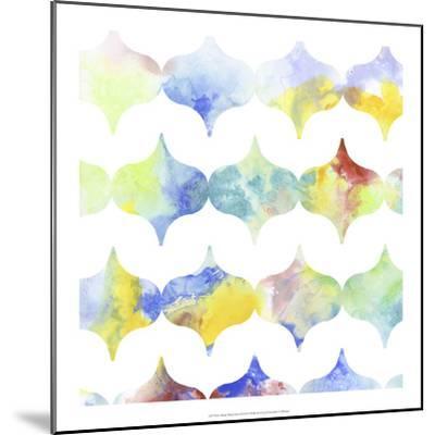 Metric Watercolors II-Jennifer Goldberger-Mounted Art Print