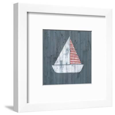 Nautical Plank I-Grace Popp-Framed Art Print