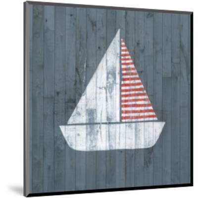 Nautical Plank I-Grace Popp-Mounted Art Print