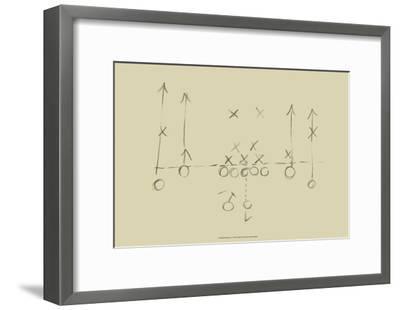 Playbook I-Ethan Harper-Framed Art Print
