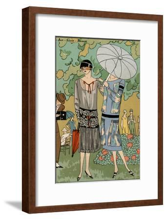 Vintage Couture VI-Unknown-Framed Art Print