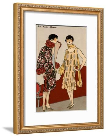 Vintage Couture VII-Unknown-Framed Art Print