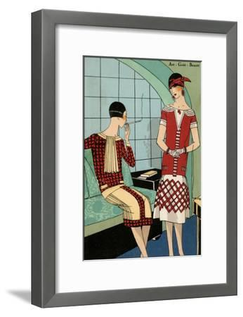 Vintage Couture VIII-Unknown-Framed Art Print