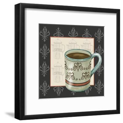 Coffee Break II-Jade Reynolds-Framed Art Print