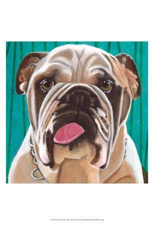 Dlynn's Dogs - Bosco-Dlynn Roll-Framed Art Print