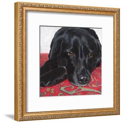 Dlynn's Dogs - Tallulah-Dlynn Roll-Framed Art Print