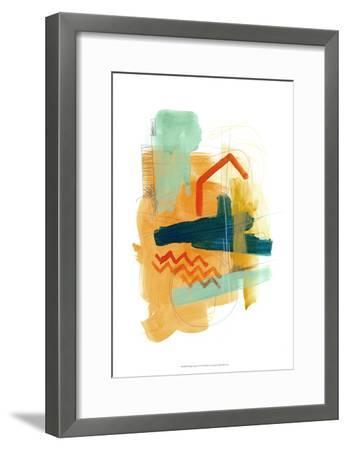 Fringe Aspect V-June Erica Vess-Framed Art Print