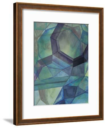 Gemstones III-Grace Popp-Framed Art Print