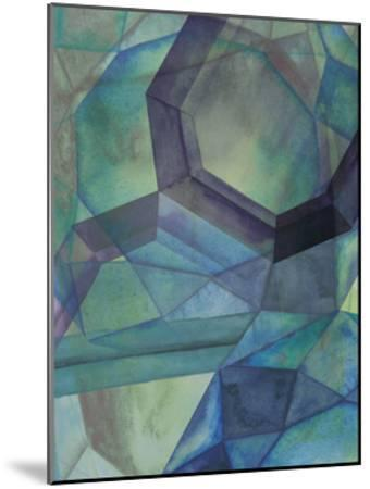 Gemstones III-Grace Popp-Mounted Art Print