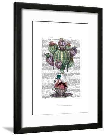 Dodo in Teacup-Fab Funky-Framed Art Print