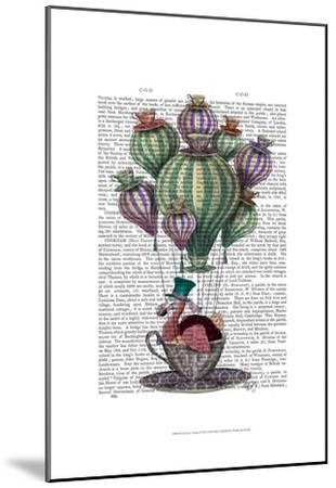 Dodo in Teacup-Fab Funky-Mounted Art Print