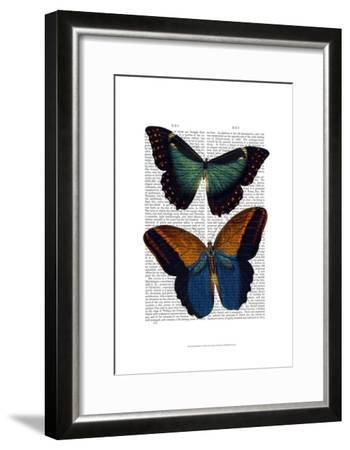 Butterflies 4-Fab Funky-Framed Art Print