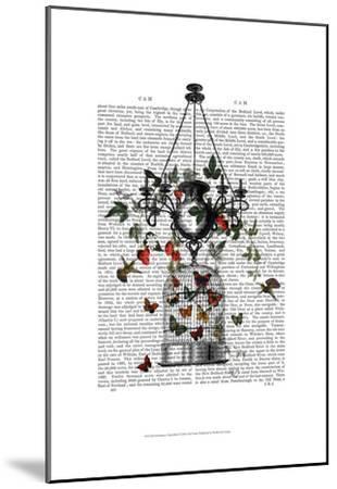Strawberry Chandelier-Fab Funky-Mounted Art Print