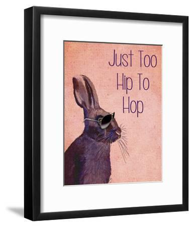 Too Hip To Hop Pink-Fab Funky-Framed Art Print