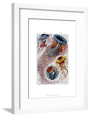 Sea Anemone-Fab Funky-Framed Art Print