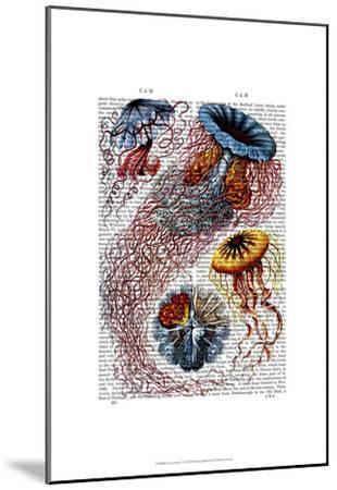 Sea Anemone-Fab Funky-Mounted Art Print