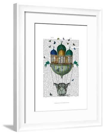 Butterfly House-Fab Funky-Framed Art Print