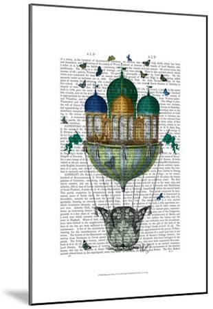 Butterfly House-Fab Funky-Mounted Art Print