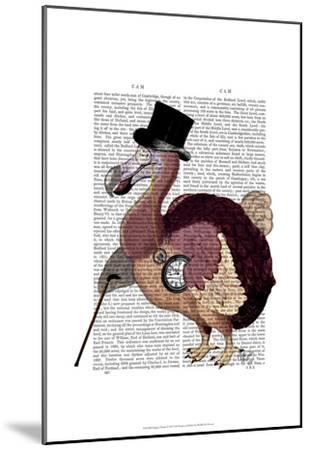 Dapper Dodo-Fab Funky-Mounted Art Print