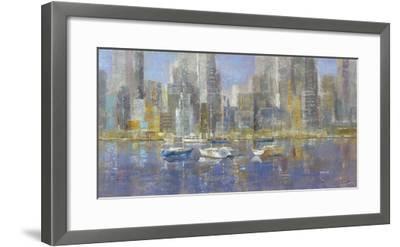 City Bay-Longo-Framed Giclee Print