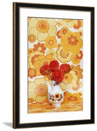 Boho Flowers II-Camille Soulayrol-Framed Giclee Print
