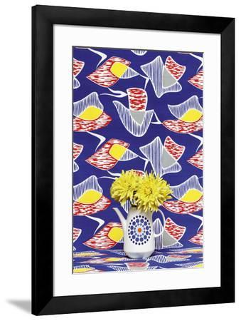 Funky Flowers II-Camille Soulayrol-Framed Giclee Print