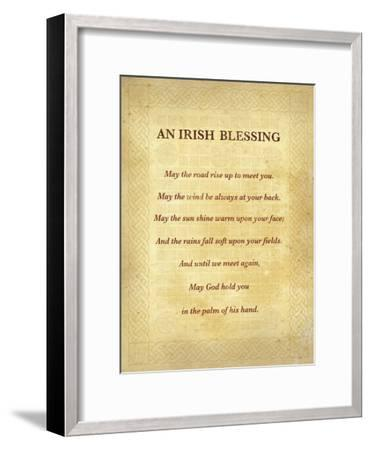 An Irish Blessing-The Inspirational Collection-Framed Art Print