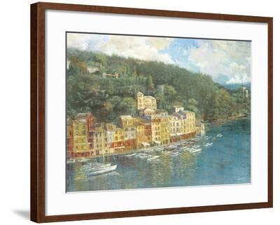 Portofino-Longo-Framed Giclee Print