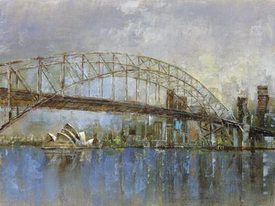Sydney Harbour-Longo-Framed Giclee Print