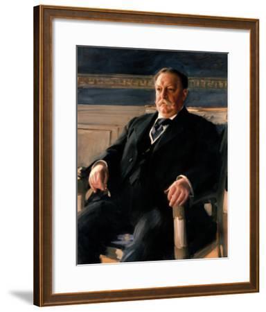 Official White House Portrait of William Howard Taft-Anders Zorn-Framed Premium Giclee Print