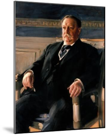 Official White House Portrait of William Howard Taft-Anders Zorn-Mounted Premium Giclee Print