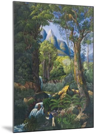 The Botanist-Unknown-Mounted Premium Giclee Print